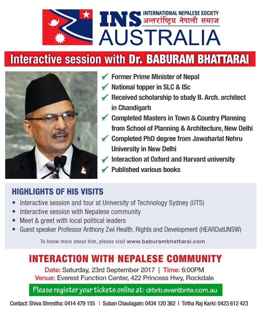 Dr Bhattarai
